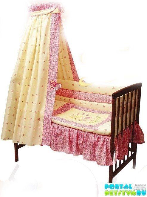 Как сшить малышу в кроватку бортик